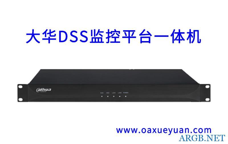 大华DSS监控平台一体机